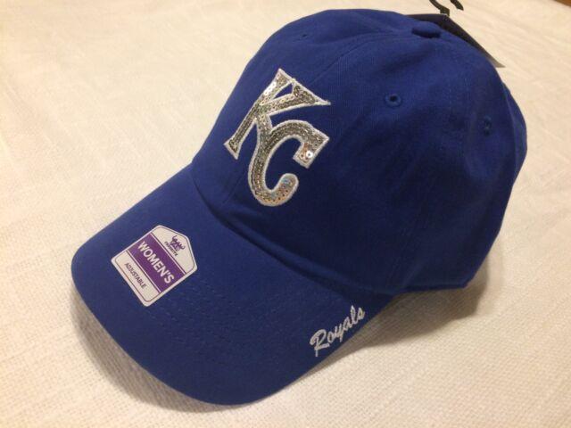 sports shoes 70e04 e39c0 Women s Fan Favorite Royal Kansas City Royals Sparkle Adjustable Hat
