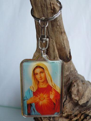 Ikone Heilige Santa Maria Schlüsselanhänger Kirche Keychain Icon Church holy god