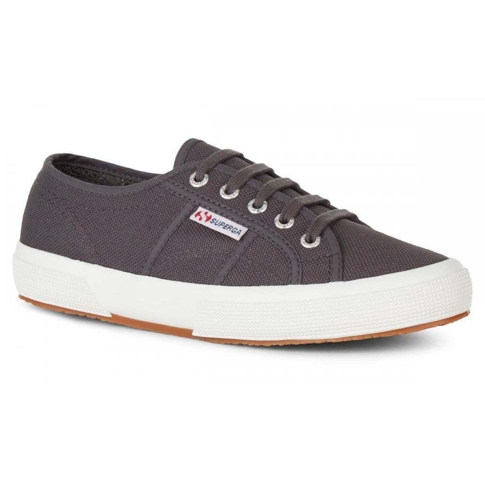 2750 Cotu Classic Dark Grey Iron Canvas Sneakers Trainers New Superga