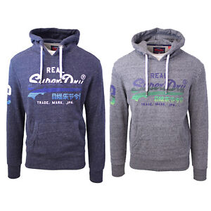 SuperDry-Men-039-s-Vintage-Logo-Cotton-Blend-Pull-Over-Hoodie-Retail-90