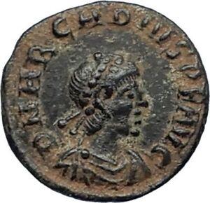 ARCADIUS-388AD-Authentic-Ancient-Genuine-Roman-Coin-VICTORY-Angel-Captive-i67193