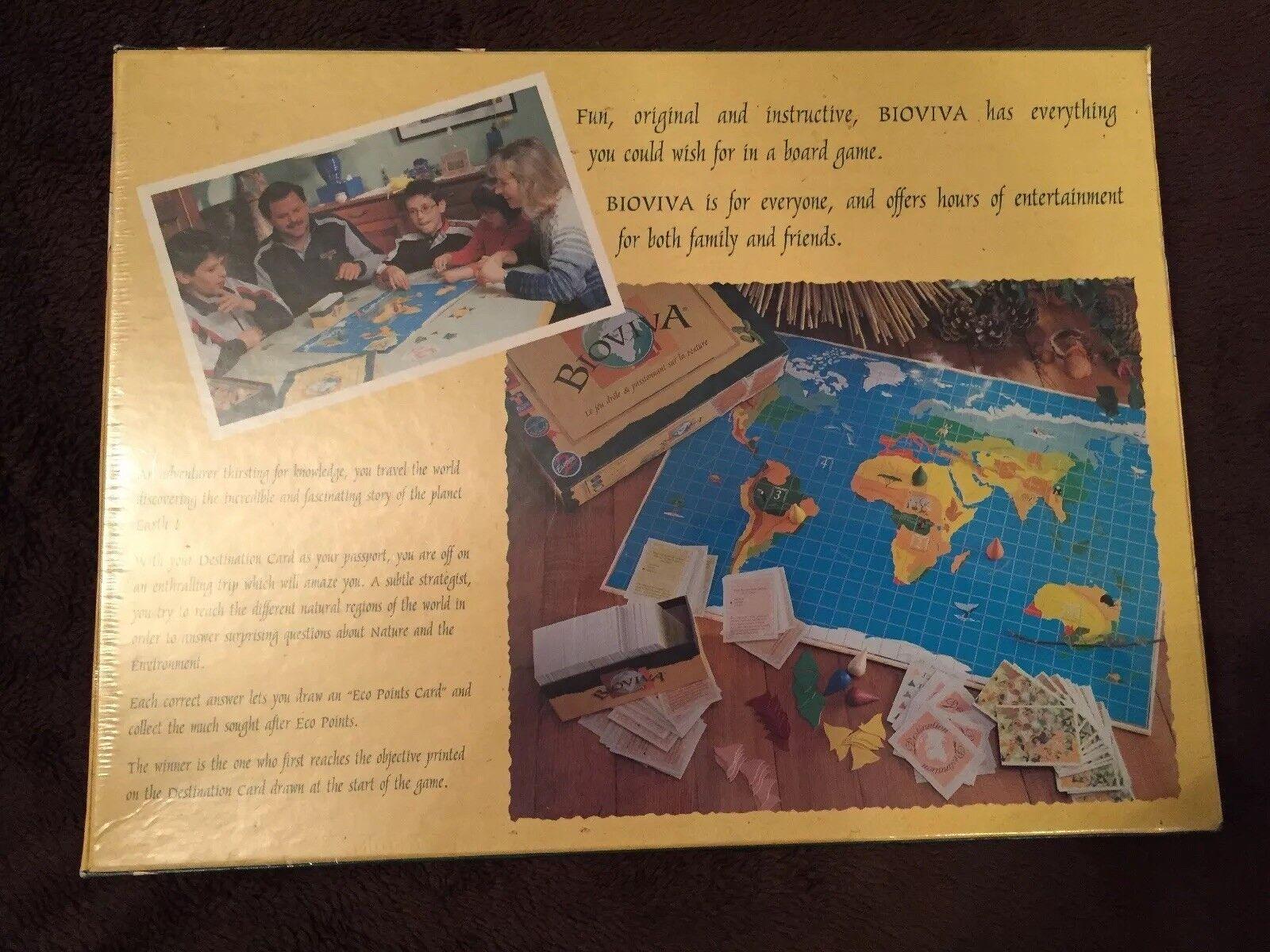La naturaleza global Bioviva Original Divertido Juego Juego Juego De Mesa Educativo Niños De Descubrimiento Nuevo 90436c