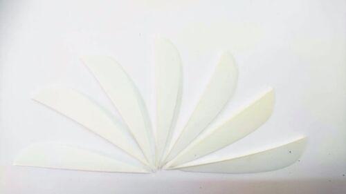 """9 PARABOL 3/"""" ORANGE Naturfedern Pfeile gestanzte Federn Truthahn Bogenschiessen"""