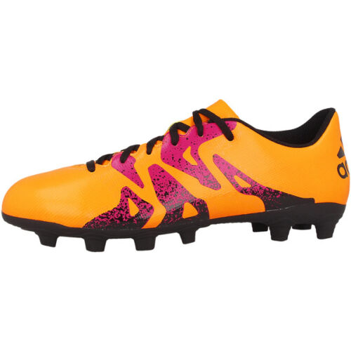 Adidas X 15.4 FxG Fussballschuhe AF4694 Gold Black F50 ADIZERO Flexible Ground