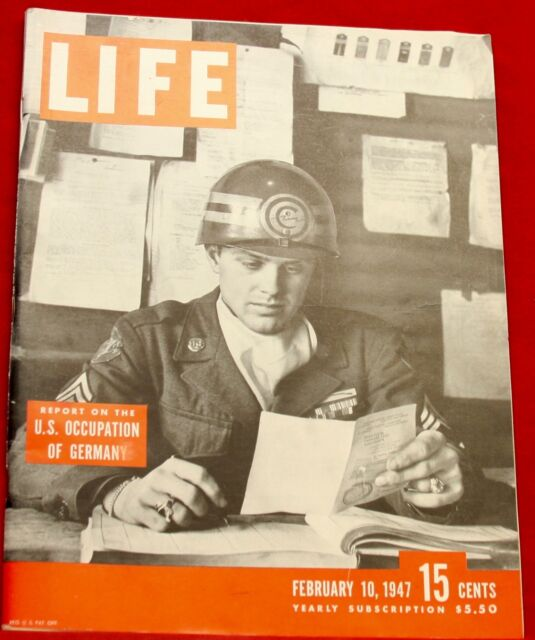 Life Magazine February 10, 1947 Ads Coke Near Mint Condition