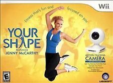YOUR SHAPE: INCLUDES MOTION TRACKING CAMERA  (Wii, 2009) (5629)