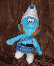 """Kellytoy Scottish Plaid Smurf 14"""" Plush Soft Toy Stuffed Animal"""
