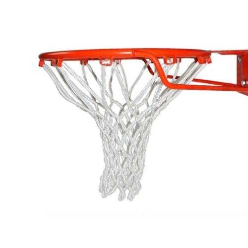 Indoor Outdoor Heavy Duty Basketball Net Nylon Net Durable Rugged Standard Rim