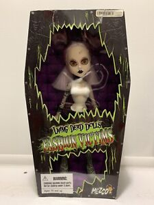 Living Dead Dolls Fashion Victims LULU Series 2 Mezco Horror Gothic Figure Read!