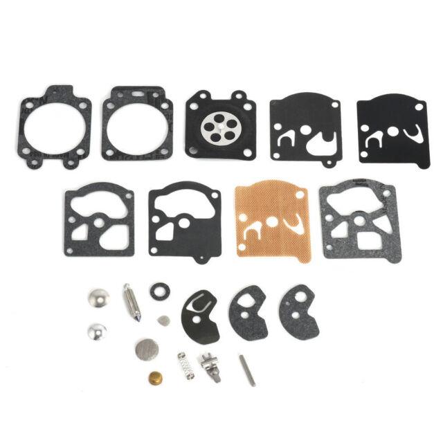 Carburetor Carb Gasket Diaphragm Repair Rebuild Kit For Walbro WAT WA WT Series.