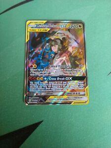 RESHIRAM /& ZEKROM 222//236 Pokemon SUN MOON Cosmic Eclipse GX Full Art Foil Rare