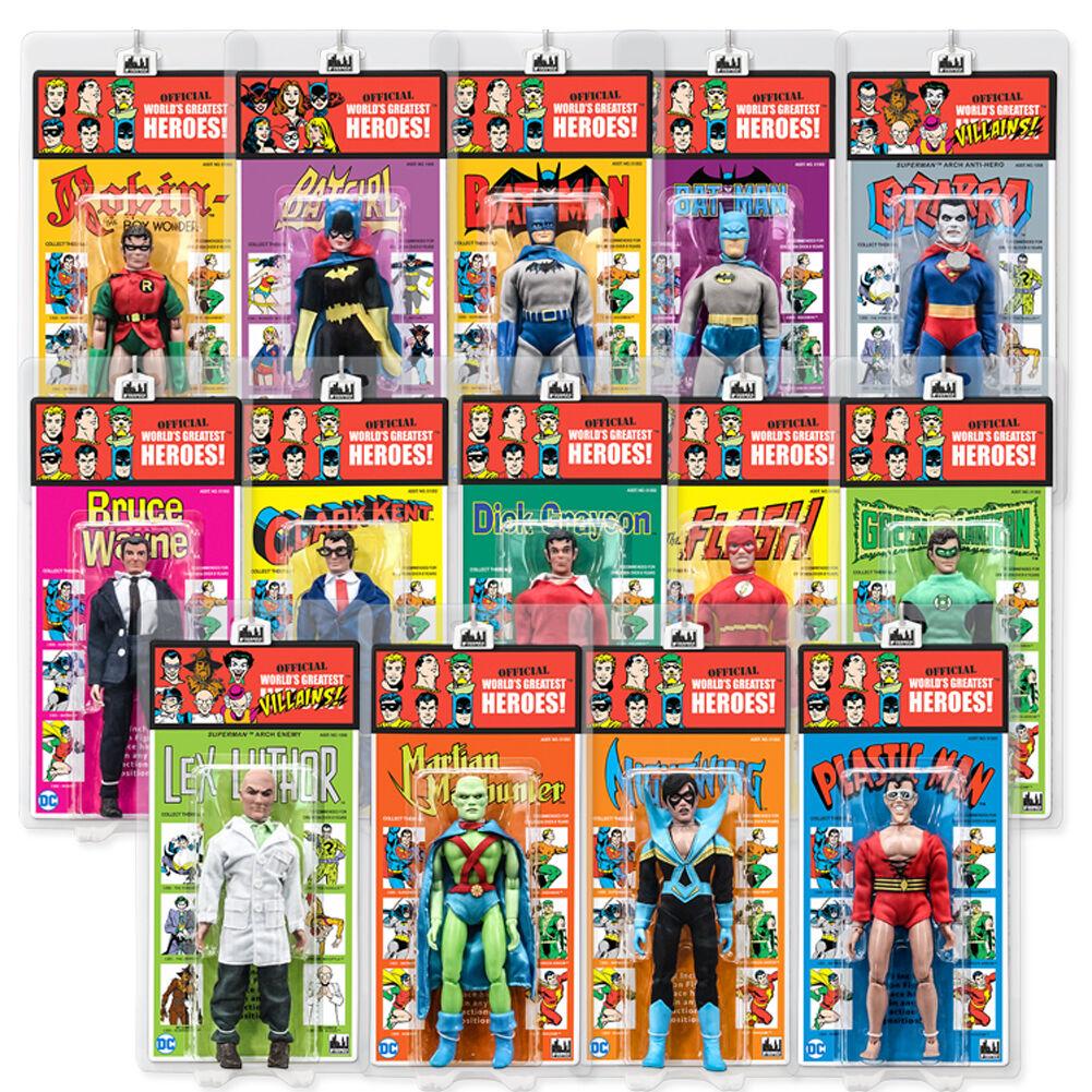 DC Comics Retro Frantz estilo Figuras De Acción Serie 4  Set Completo De 14
