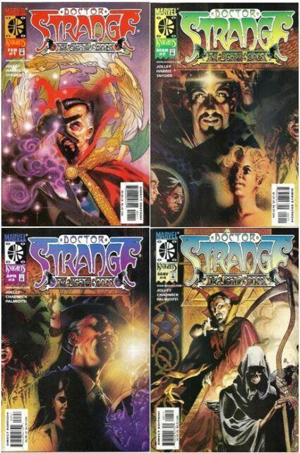 Doctor Strange: The Flight of Bones #1-4 Marvel (1999) (Jolley Harris Snyder)