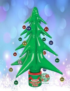 image is loading new inflatable christmas tree tin can office dorm - Blow Up Christmas Tree