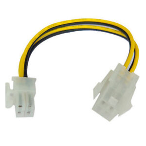 Hot-10x-ATX-Male-to-4Pin-Female-PC-CPU-Power-Supply-Extension-Cable-Cord-Adapter