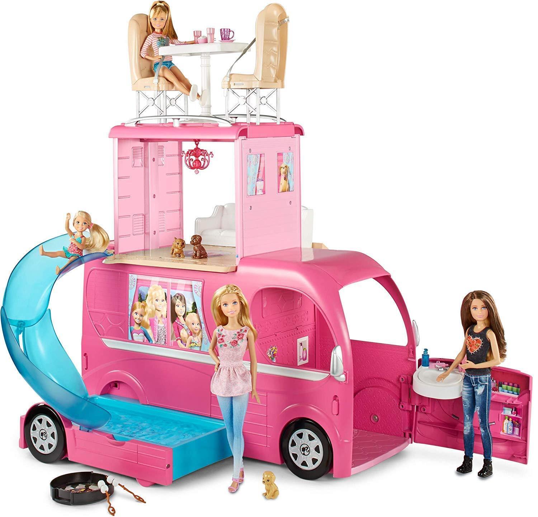 Mattel Barbie Super Ferien Camper Das große Hundeabenteuer OVP CJT42