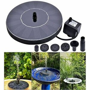 Solar-Powered-Water-Panel-Power-For-Pools-Garden-Ponds-Fountain-Pump-Outdoor-New