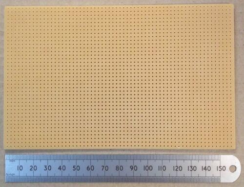 "Plain 160 x 100 mm Srbp Electronic Prototype Matrice Circuit Board 0.1/"" no cuivre"