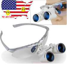 Dentist Dental Surgical Medical Binocular Loupes 35x 420mm Lab Equipment