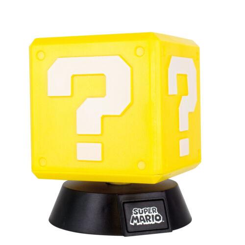Dekolampe Super Mario Fragezeichen Block Dekolicht Super Mario Fragezeichen