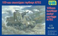 1/72  M7B2 105mm hotwizer motor carriage  um model kit 228