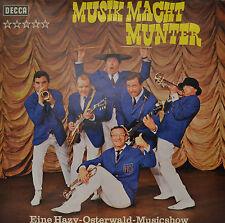 """HAZY OSTERWALD - MUSIK MACHT MUNTER  12""""  LP (P470)"""