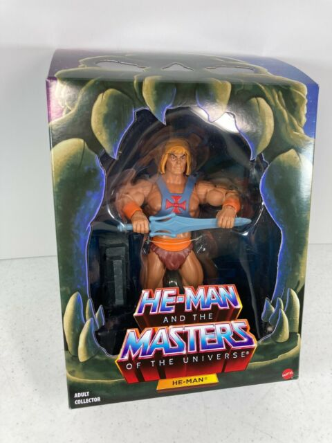 Masters of The Universe Classics Club Grayskull He-Man 2.0 Filmation Last One!