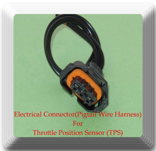 pigtail wire harness connector for tps th431 fits hyundai elantra kia soul Automotive Wiring Switches