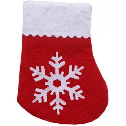 "IMPERIAL RED SNOW REFILLABLE CATNIP HOLIDAY STOCKING 5"" CHRISTMAS. USA"