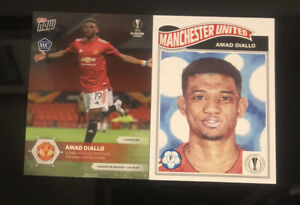AMAD DIALLO Rookie Manchester United - EL TOPPS NOW/ Topps Living Set