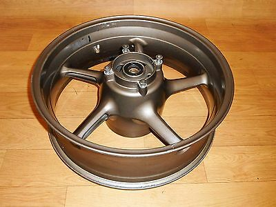 TRIUMPH DAYTONA 675 OEM REAR WHEEL RIM 17 x 5.50 INCH *STRAIGHT* 2007-2012