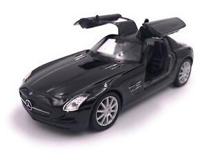 Mercedes-SLS-AMG-Modellino-Auto-Auto-Licenza-Prodotto-1-3-4-1-3-9-Vari-Colori