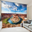 3D Sky valley 3 Blockout Photo Curtain Printing Curtains Drapes Fabric Window AU