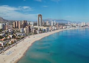 A1-Benidorm-Spain-Poster-Art-Print-60-x-90cm-180gsm-Holiday-Travel-Gift-12488