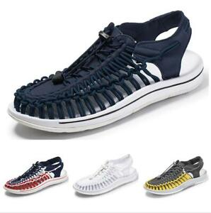 Casuals-Shoes-Men-Sneaker-Mesh-Running-Walking-Trail-Sandals-Woven-Comfort-Sport