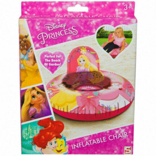 Disney Princess Inflatable Chair For Kids /& Perfect For Beach And Garden