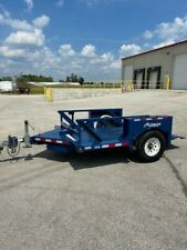 2018 Air Tow S10 55 Trailer With Hydraulic Ground Load Deck Amp Air Suspension