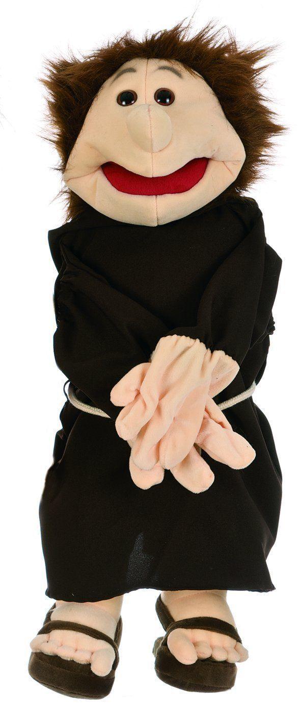 Handpuppe Mönch Mund+Hände bespielbar Bauchrotnerpuppe Therapiepuppe Therapiepuppe Therapiepuppe NEU 14175f