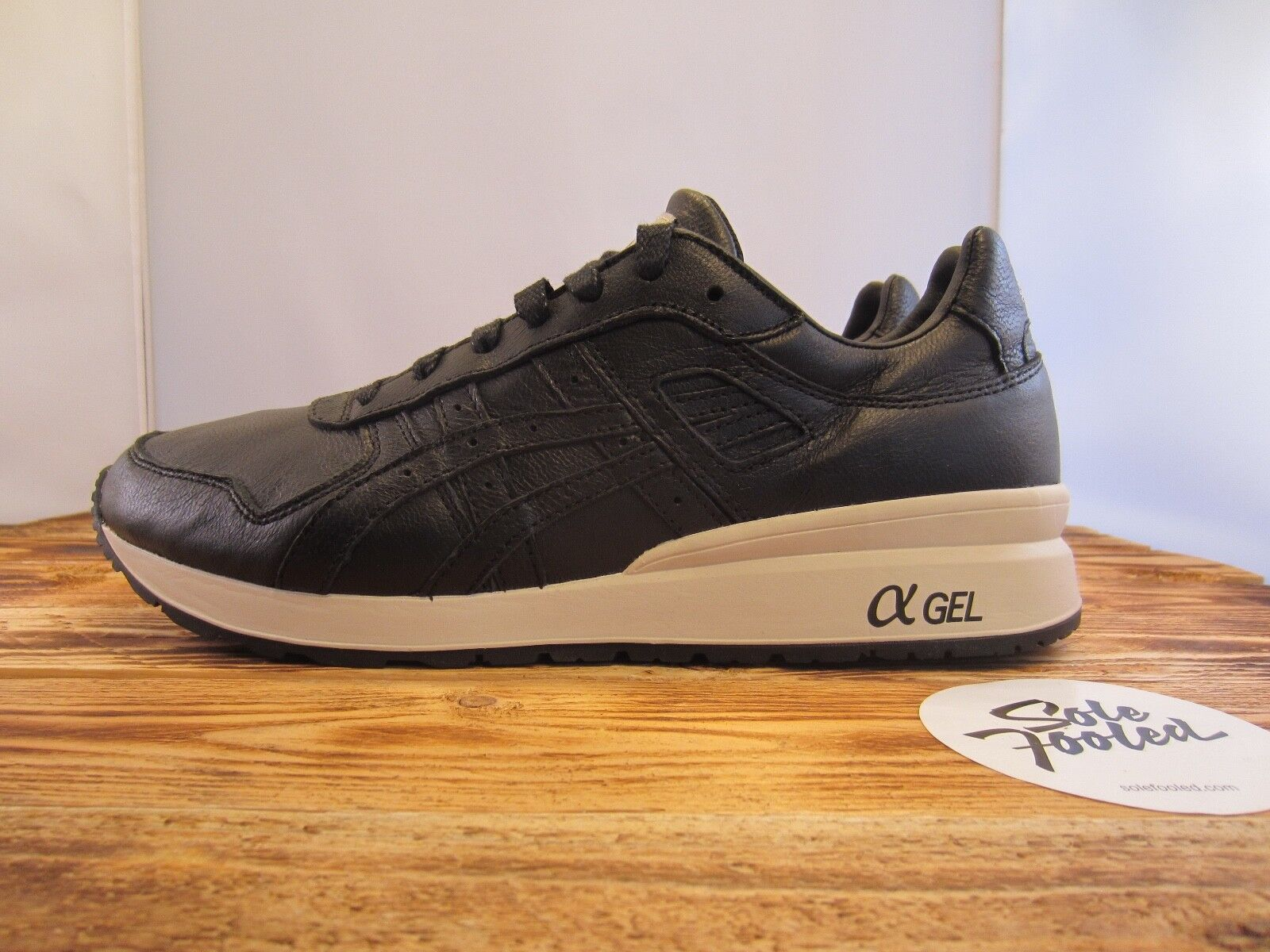 Asics GT-II black Leather (H7L2L-9090) - 42 43 44 45 47 - (2/3/5/V/GL/Gel Lyte/)