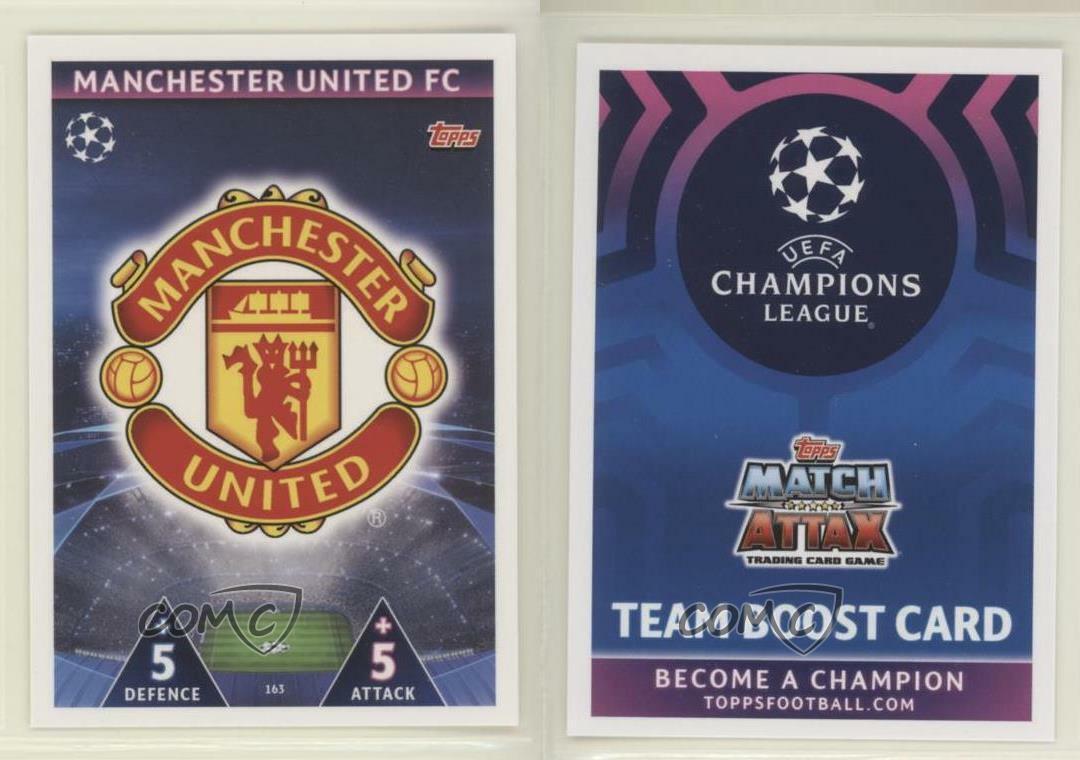 Topps Match Attax Champions League 2017//2018 MANCHESTER C zum aussuchen 163-180