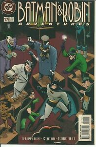 Bon CœUr Batman & Robin Adventures N° 17 - Dc 1997 ( Comics Usa )
