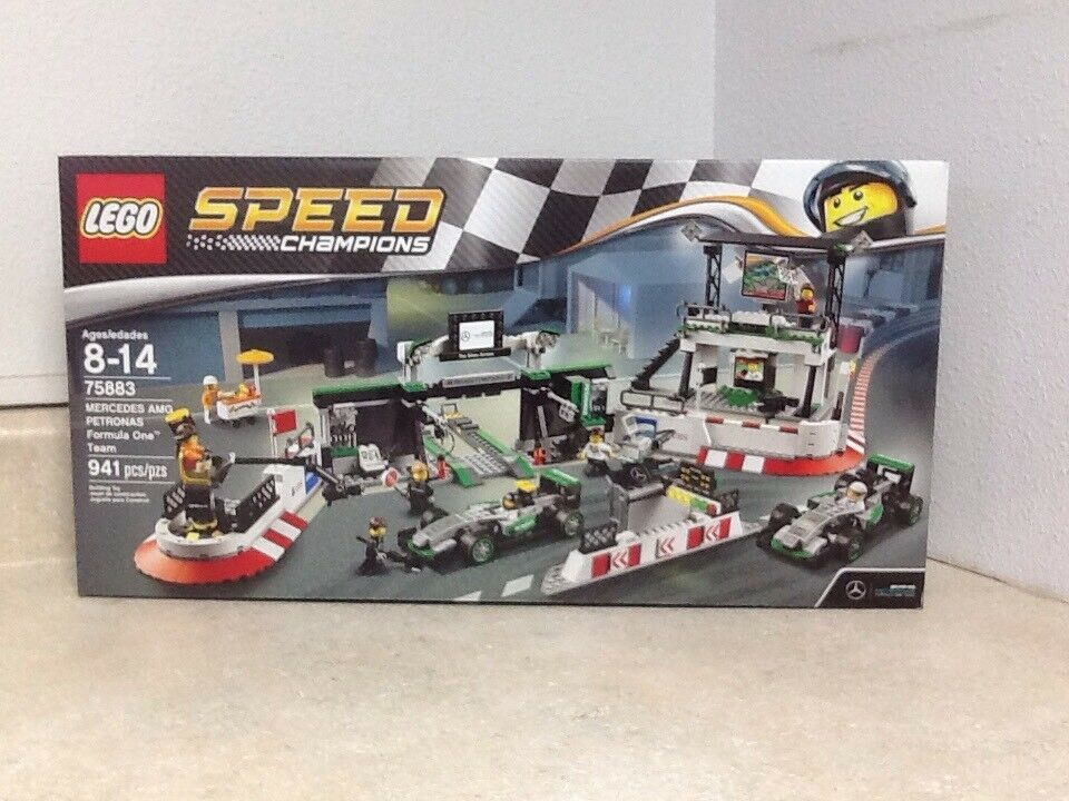 forniamo il meglio LEGO Speed Champions Mercedes Mercedes Mercedes AMG Petronas Formula One squadra 75883 W   7 Minifigs  compra meglio