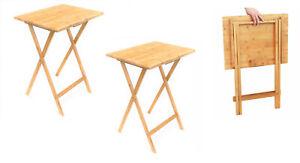 2x-Folding-Bamboo-Bedside-Table-Foldable-TV-Table-Tray-Work-Reading-Portable-Tea