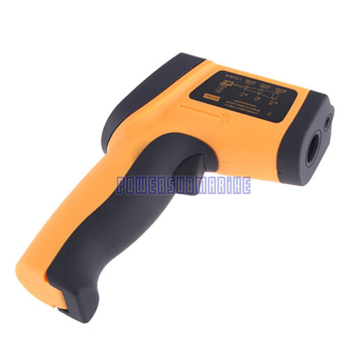 Infrared Non-Contact Thermometer with Laser Targeting Emissivity Adjustment UK