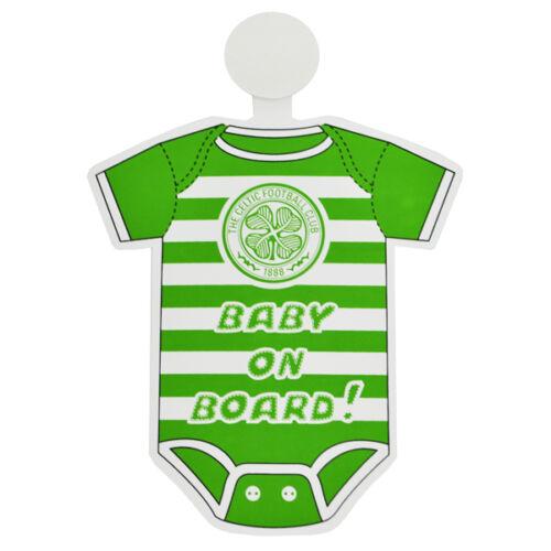 Club de football équipe mini kit bébé à bord de la sécurité en voiture pendaison fenêtre panneau d/'avertissement