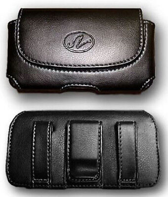 Leather Case Pouch for TMobile/MetroPCS LG Optimus L70 MS323 (fits w hybrid case
