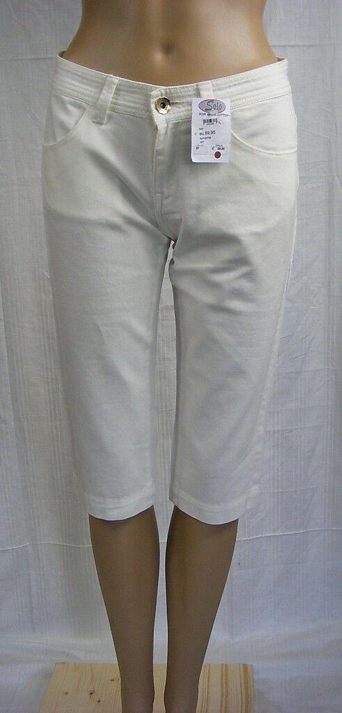FORNARINA    W 28  38  Jeans  Capri  weiss  NEU