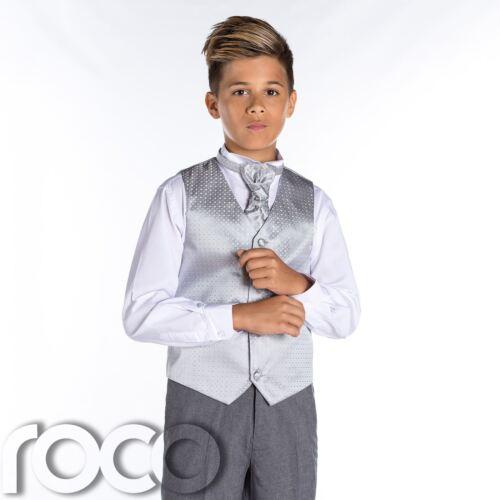 Diamond Boys Suits Boys Wedding Suits Boys Silver /& Grey Suit Page Boy Suits