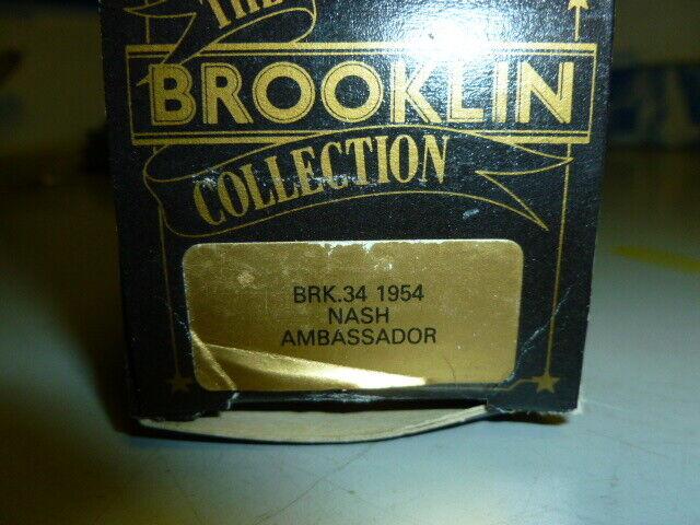 Die cast 1 43 Brooklin Models 1 43 Scale BRK34 1954 nash ambassador