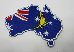Australia-Patch-Sew-Iron-Men-039-s-Shed-Rider-biker-Motorcycle-Australian-Biker